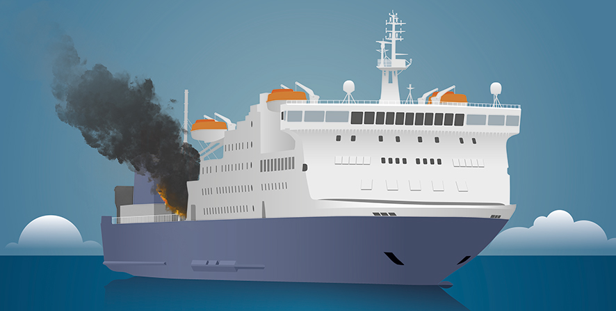 EU funded project LASH FIRE aims to improve ro-ro ship fire safety