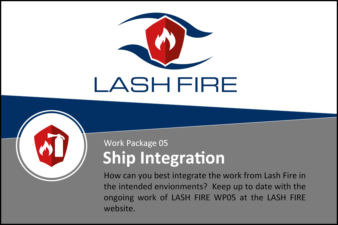 Read about the progress in WP05 – Ship Integration