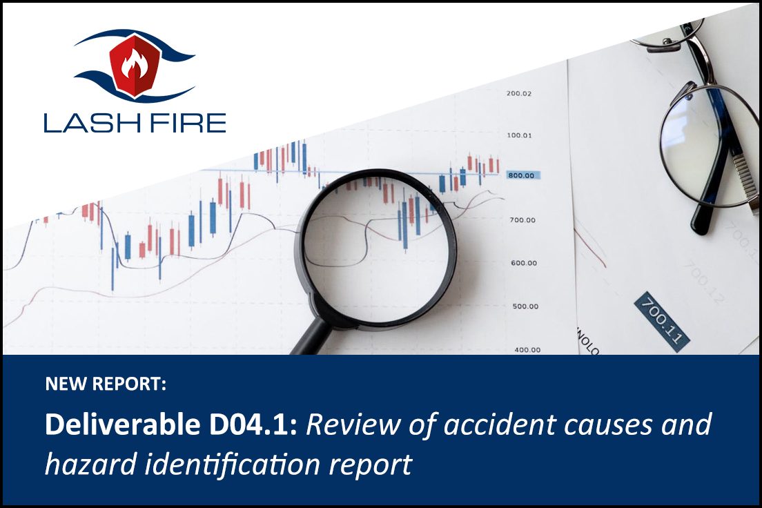 Welcome to read the Deliverable D4.1 report: Review of accident causes and hazard identification