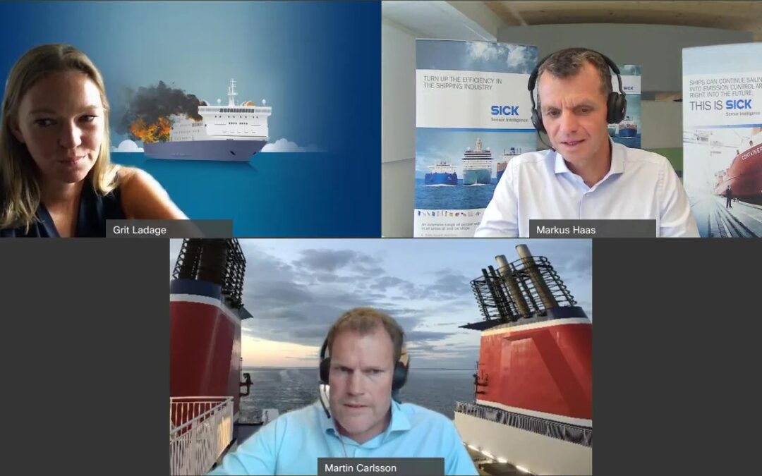 LASH FIRE Interview at the SICK Ocean Sensor Conference, 2021.