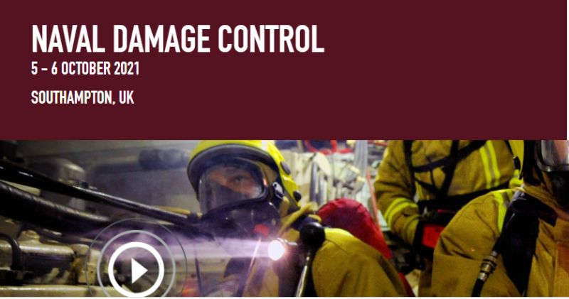 LASH FIRE will present at the Naval Damage Control conference in Southampton, UK.