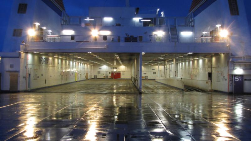 """LASH FIRE presents at the final conference of ALBERO research project """"Alternatively operated vehicles on RORO ferries""""."""