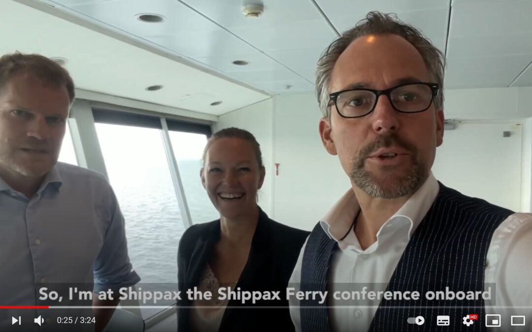 A Shippax SHIP STORY with LASH FIRE onboard DFDS Ferry, by Ruben Wansink